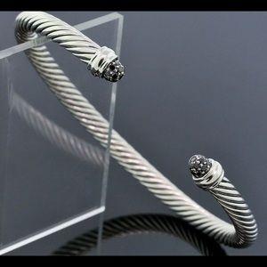 David Yurman Black Diamond Pave Bracelet